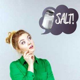 salt - what a great idea!
